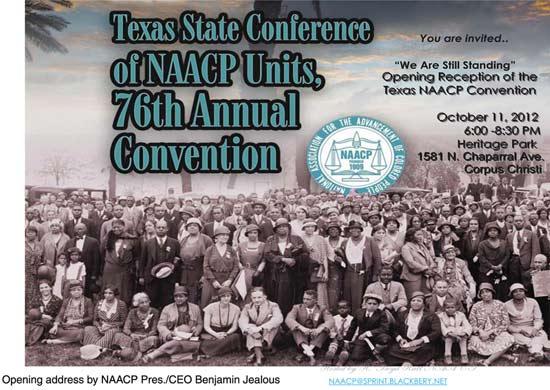 76th Annual Texas State Conference of NAACP Units