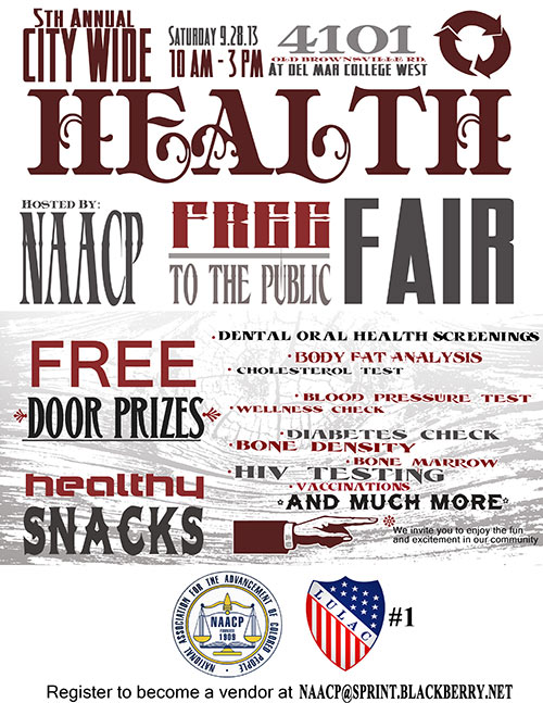 5th Annual Health Fair